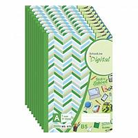 Lốc 5 Tập (vở) Kẻ Ngang Digital (200 trang) KLONG 875