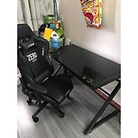 COMBO bàn chữ Z (đen) ghế Extreme ZERO  (đen)