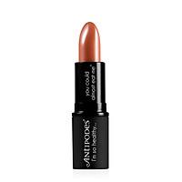Son Môi Thiên Nhiên Màu #3 Nâu Socola Antipodes Lipstick Queenstown Hot Chocolate 415 4g