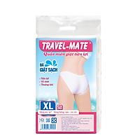 Combo 5 bao quần lót giấy du lịch tiện lợi nữ PP Travel - Mate 5 quần/bao