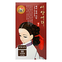 Nhuộm Tóc Thảo Dược Hàn Quốc Saeangmeori Màu 5S (125ml)