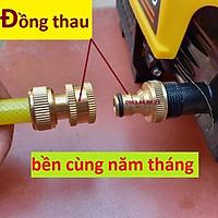 Bộ khớp nối nhanh đầu vào Đài Loan cho máy rửa xe áp lực cao, máy xịt rửa cao áp, máy rửa xe gia đình