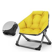 Ghế sofa lười gấp gọn ngồi đọc sách làm việc và thư giãn có gối tựa đầu mẫu mới 2021