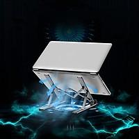 Giá đỡ tản nhiệt dùng cho laptop, macbook, điện thoai, máy tính bảng, đọc sách ( Giao màu ngẫu nhiên) - Hàng chính hãng