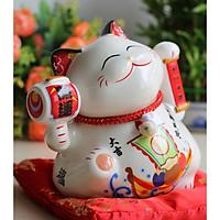 Mèo vẫy tay may mắn Nhật Bản-Tâm nguyện ý thành SW360-18cm