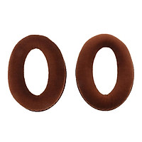 2 Pieces Luxurious Flannel Over Ear Cushions Pad For Sennheiser HD558 Headphone