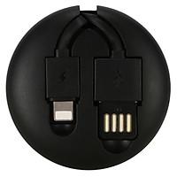 Cáp Sạc Lightning & Micro USB Có Thể Thu Gọn Thông Minh Remax RC-099T (1m) - Hàng chính hãng