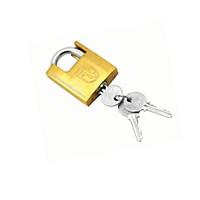 Ổ khóa cửa treo Việt Tiệp bấm chống cắt đồng vàng 01525 - 5P (phi 8mm) / VT0162P - 6P (phi 10mm) chất liệu bằng đồng màu vàng