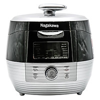 Nồi Áp Suất Điện Tử Nagakawa NAG0201 (5.0 Lít) - Hàng Chính Hãng