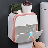 Hộp đựng giấy vệ sinh đa năng có ngăn kéo mẫu mới nhất hiện nay
