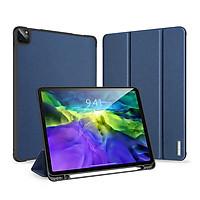 Bao da chống sốc kèm khay đựng bút cho Apple iPad Pro 11 inch 2020 thương hiệu DUX DUCIS Domo Series cao cấp - Hàng nhập khẩu.