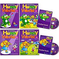 Combo Bộ Happy World 5 - Tiếng Anh Cho Trẻ Em (Gồm 2 Bộ 5A+5B)