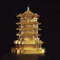 Mô hình thép 3D tự ráp Hoàng Hạc lâu