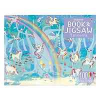 Usborne Unicorns Sticker Book and Jigsaw Unicorns