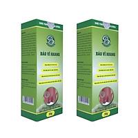 [Combo 2 hộp] Kem bôi trĩ cải thiện tình trạng sa búi trĩ, trĩ không co lên được, giảm phù nề, viêm nhiễm, nấm ngứa, chảy máu, làm dịu da cải thiện cơn đau rát và khó chịu do trĩ - Bảo Vĩ Khang