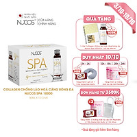 Collagen nước ngăn lão hóa Nucos Spa 10.000 hộp 10 chai