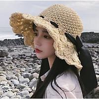 Nón Rộng Vành Nữ Đi Biển Gấp Gọn - DONA21040503