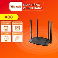 Thiết bị phát Wifi Tenda AC8 Chuẩn AC 1200Mbps - Hàng Chính Hãng