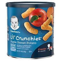Bánh Gerber Crunchies Vị Khoai Lang Táo