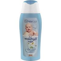 Gel Tắm Gội toàn thân cho bé (3 trong 1) Heba CARE 3 IN 1 Wash gel mild (250ml)