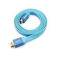 Cáp HDMI 1.4 (1.5m) Unitek (Y-C 154) (Dây Dẹp) - Hàng chính hãng