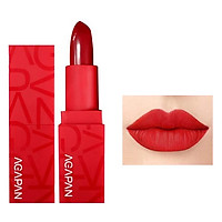 Son Thỏi lì mềm môi Agapan Pit A Pat Lipstick Red Limited Edition