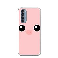 Ốp lưng điện thoại OPPO RENO4 PRO - Silicon dẻo - 0131 PIG - Hàng Chính Hãng