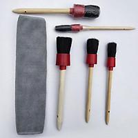 6pcs/1set Car Air  Conditioner Detail  Brush Wheel  Hub  Rim  Brush Engine  Air  Outlet Gap  Brush