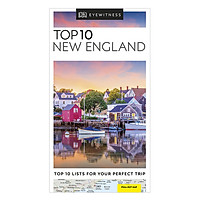 Top 10 New England - Pocket Travel Guide (Paperback)