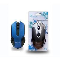 Chuột Máy Tính Có Dây Mouse Vision V5 Màu Ngẫu Nhiên -  Hàng nhập khẩu