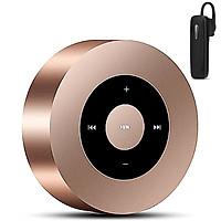 Combo Loa Nghe Nhạc Bluetooth MSTK-8A + Tặng Tai Nghe Bluetooth Nhét Tai (Màu Ngẫu Nhiên)
