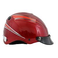 Mũ bảo hiểm 1/2 đầu không kính chính hãng BKtec bk12-man-m