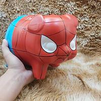 Lợn đất tiết kiệm tiền mẫu Spider Man size trung – ống heo làm quà sinh nhật – mang lại may mắn, tài lộc