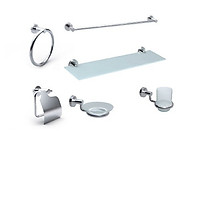 Bộ phụ kiện phòng tắm 06 món Concept CC2801000-CH