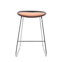 Combo 2 Ghế bar chân cao cao cấp, mặt nhựa lót đệm, phù hợp dùng ngoài trời, pantry, bar, nhà hàng, bàn trang điểm... mã sản phẩm K000-012, K000-013
