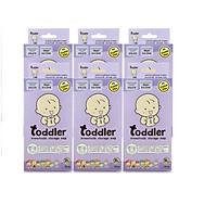 [New] Combo 6 Hộp túi trữ sữa mẹ Toddler thailand-250ml Hộp 28 túi