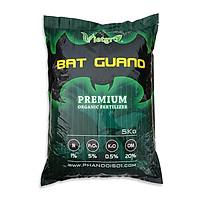 Phân bón hữu cơ chuyên dùng cho hoa lan, hoa hồng, bonsai, rau màu Vietgro - Phân Dơi Bat Guano - Túi 5kg