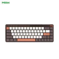 MIIIW Wireless Mechanical Keyboard ART 68 Keys N-key Rollover BT/Type-C Gateron G Pro Yellow Switch 4000mAh Keyboard for