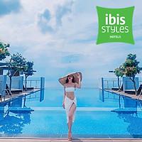 Ibis Styles Hotel 4* Vũng Tàu - Buffet Sáng, Hồ Bơi Vô Cực, Đối Diện Biển Bãi Sau