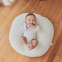 Gối chống trào ngược cho bé Rototo bebe Airmesh cao cấp khắc phục tình trạng trào ngược dạ dày trẻ sơ sinh hiệu quả - Loại Airmesh thoáng khí mới nhất