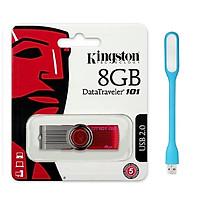 USB Kingston DT101G2 - 8GB- Hàng Chính Hãng + Tặng Đèn Led.