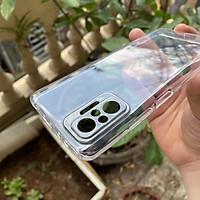 Ốp lưng silicon Gor trong suốt, siêu mỏng, bảo vệ camera cho Xiaomi Redmi Note 10 Pro, Redmi Note 10 Pro Max- Hàng nhập khẩu