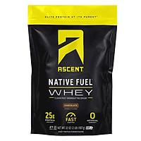 Ascent Native Whey 0.91kg chứng nhận