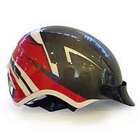 Mũ Bảo Hiểm Nửa Đầu Protec IM01 Họa Tiết Thể Thao, Siêu nhẹ, An toàn - Hàng Chính hãng