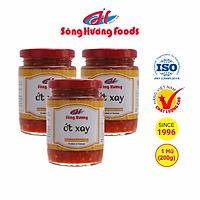 3 Hũ Ớt Tươi Xay Sông Hương Foods Hũ 200g