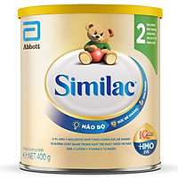 Combo 4 Lon Sữa Bột Similac 2 (400g)