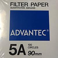 Giấy lọc định lượng số 5A, đường kính 90mm