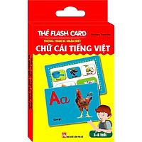 Thẻ Flash Card Thông Minh Bé Nhận Biết Chữ Cái Tiếng Việt