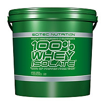 100% WHEY PROTEIN ISOLATE 4000G CHOCOLATE