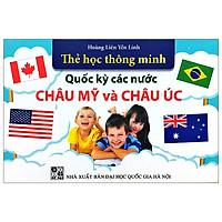 Thẻ Học Thông Minh - Quốc Kỳ Các Nước Châu Mỹ Và Châu Úc